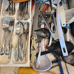 Lot # 147 Lot of Various Kitchen Utensils