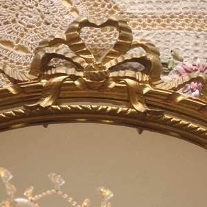 Lot # 156 Italian Made Wood Framed Hanging Mirror