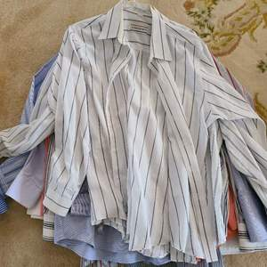 Lot # 165  Lot of Various Mens Dress Shirts - Sizes in Pictures