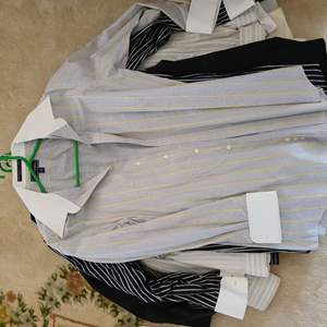 Lot # 167  Lot of Various Mens Dress Shirts - Sizes in Pictures