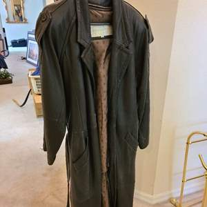 Lot # 169 Skins by Tara Full Lenght Leather Trench Coat