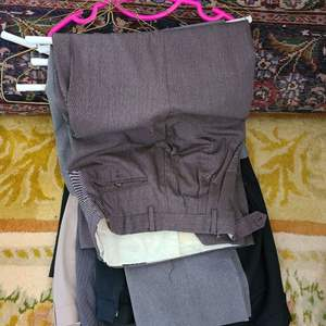 Lot # 173  Lot of Various Mens Pants - Sizes in Pictures