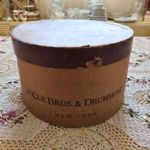 Lot # 177 McCue Bros. & Drummond Stetson Hat in Box