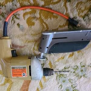 """Lot # 187 Black&Decker 1/4"""" Electric Drill & More"""