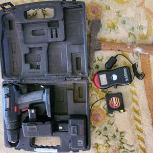 Lot # 188 Craftsman Power Drill (No Charger) & More