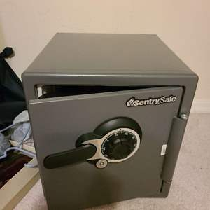 Lot # 204 Sentury Safe W/ Keys - Will Need to Be ReCoded