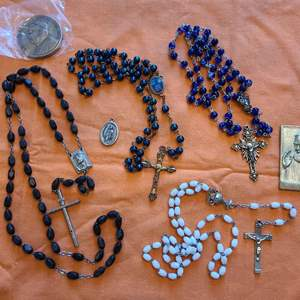 Lot # 206 Lot of Religious Items