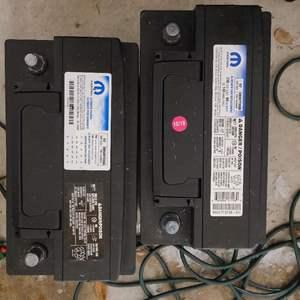 Lot # 219 Mophar Group Size H7 Series Car Batteries