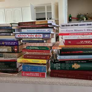 Lot # 228 Lot of Various Books