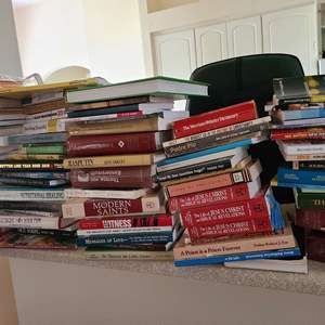 Lot # 229 Lot of Various Books