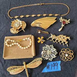 Lot # 233 Lot of Various Fashion Jewelry