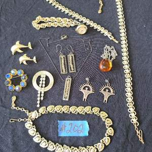 Lot # 237  Lot of Various Fashion Jewelry