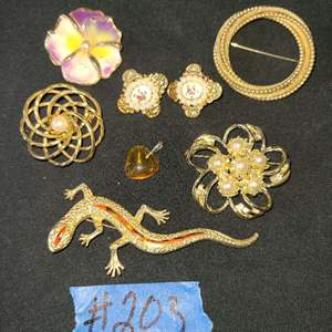 Lot # 238  Lot of Various Fashion Jewelry
