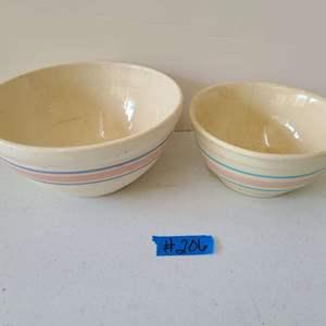 Lot # 241 Set of Ovenproof Mixing Bowls