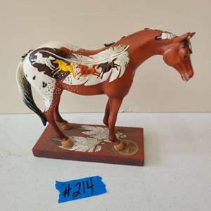 Lot # 249 Trail of Painted Ponies High Desert Horse - Retired