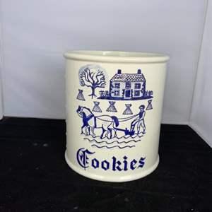 Lot # 23 Vintage Metlox Poppytrail Cookie Jar - No Lid