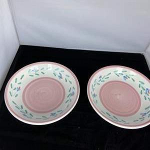 Lot # 26 Caleca FLAVIA Pasta Bowls (2)