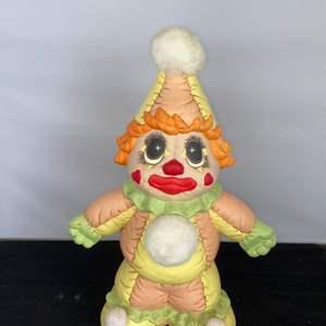 Lot # 31 Ceramic Clown Piggy Bank