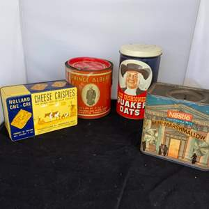 Lot # 33 Vintage Tin Cans