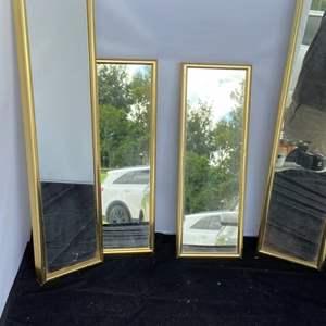 Lot # 68 (4) Wall Mirrors