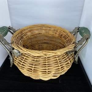 Lot # 69 Large Decor Basket