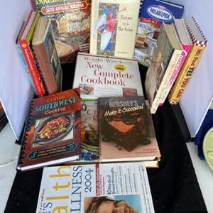 Lot # 73 Large Collection of Cookbooks