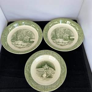 Lot # 86 (3) Collectible Plates