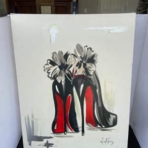 Lot # 92 Nice Canvas Art Work