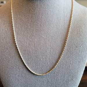 Lot # 102 Sterling Silver Rope Necklace