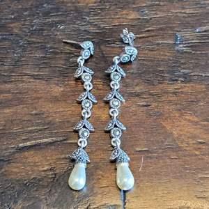 Lot # 105 Sterling Silver Drop Earrings