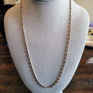 Lot # 110 Sterling Silver Necklace