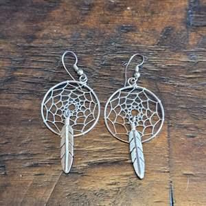 Lot # 111 Sterling Silver Dream Catcher Earrings