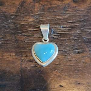 Lot # 112 Sterling Siver Heart Pendant