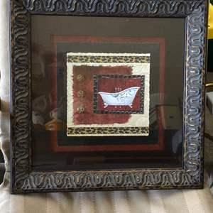 Lot # 122 Framed Artwork