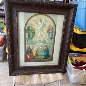 Lot # 123 Beautiful Vintage Framed Artwork