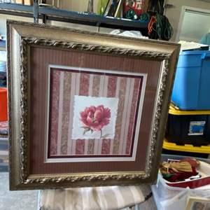 Lot # 126 Framed Artwork