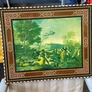 Lot # 127 Vintage Artwork (damaged)