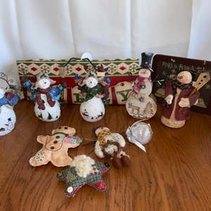 Lot # 140 Cute Collection of Snowmen