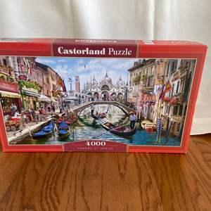 """Lot # 155 Castorland Puzzle """"Charms of Venice"""" 4000 Pcs"""