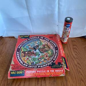 Lot # 158 Puzzle and Pick Up Sticks