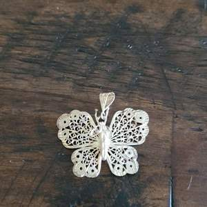 Lot # 173 Sterling Silver Butterfly Charm