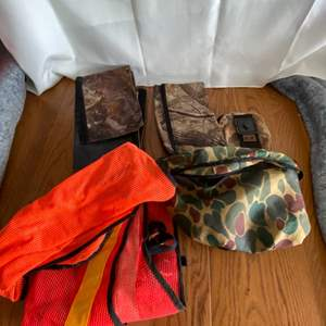 Lot # 191 Hunting Vest & Bags
