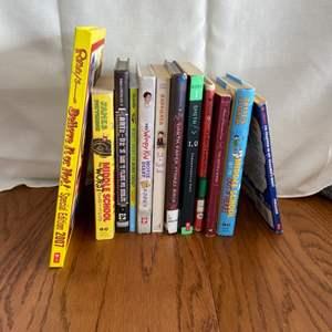 Lot # 196 Kids/Teen Books