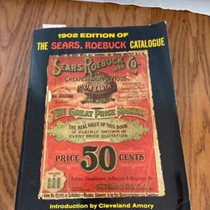 Lot # 202 1902 Sears Catalog