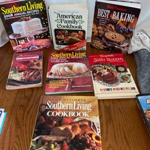 Lot # 203 Cookbooks