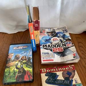 Lot # 206 Games & More
