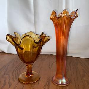 Lot # 207 Beautiful Handblown Glass Pieces
