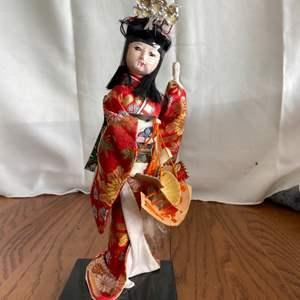 Lot # 211 Geisha Figurine