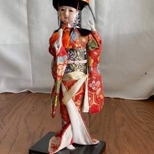 Lot # 212 Geisha Figurine