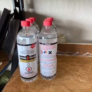 Lot # 234 (6) Moda Flame Bottles